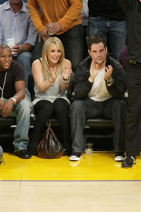 mike comrie  celebrities  nba finals game  la lakers