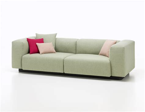 Soft Sectional Sofas Soft Modular Sofa Two Seater Vitra