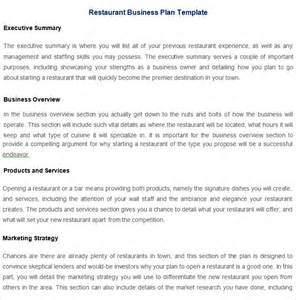 how to create business plan template restaurant business plan template 7 free pdf word