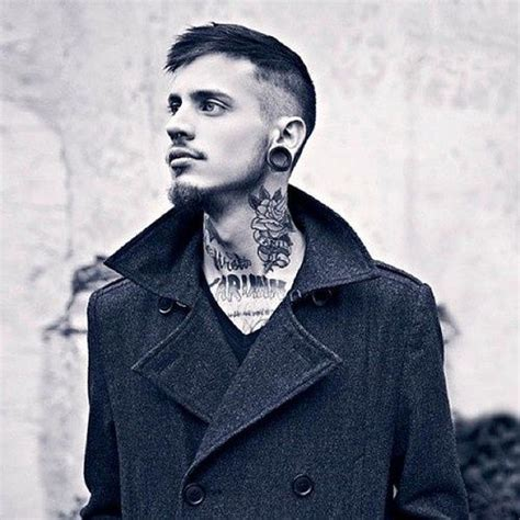 neck tattoo with suit 78 best images about neck tattoos for men on pinterest