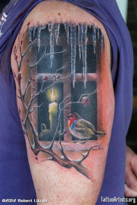tattoo xmas christmas tattoo artists org