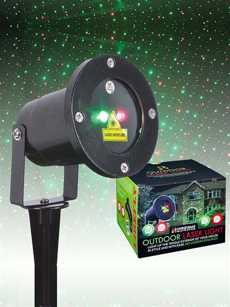 outdoor garden laser light projector led festive