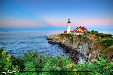 beautiful images beautiful greens portland maine head light maine