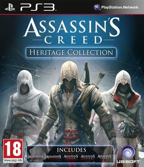 Kaset Ps4 Assassins Creed The Ezio Collection car 225 tula oficial de assassin s creed heritage collection ps3 3djuegos