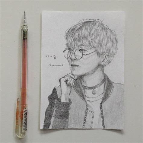 Jhope Drawing Easy by Bts J By Yanawookie On Deviantart