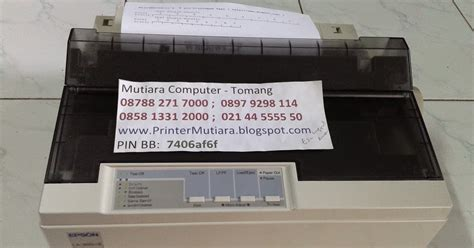 Harga Printer Dot Matrix Epson Lx 300 Ii mutiara computer jual printer epson dot matrix printer