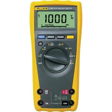 fluke 179 digital multimeter 6000 count dmm backlight temperature measurement ebay