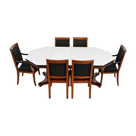Vintage Dining Table Set 89 Vintage Dining Table Set With Gold Accent Tables