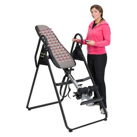 inversion table with heat and ironman fir500 infrared heat therapy inversion table
