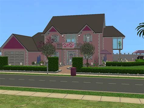 hello kitty mansion mod the sims hello kitty house requested one bedroom