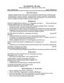 skill summary in resume
