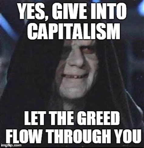 Greed Meme - plato s cave how i learned that i was a capitalist snake