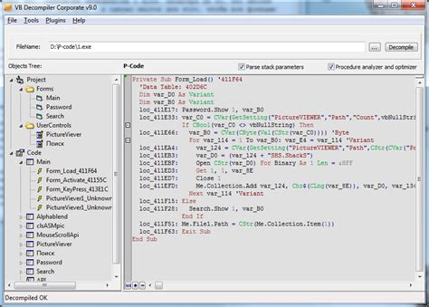 best decompiler best visual basic 6 decompiler greasigur