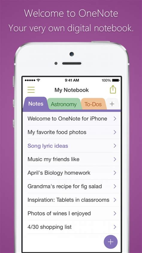 what is the other section on my iphone microsoft updates onenote for iphone and ipad with new