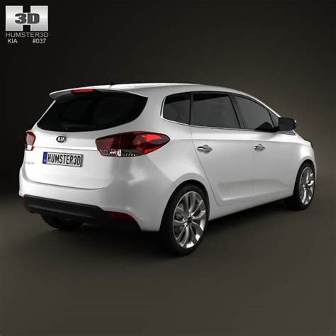 Kia Carens Rondo Kia Carens Rondo 2013 3d Model Hum3d
