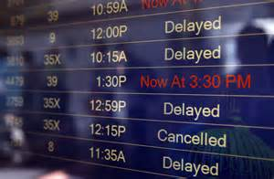 Flight Delays U S Travelers Delayed As Technical Problems Ground