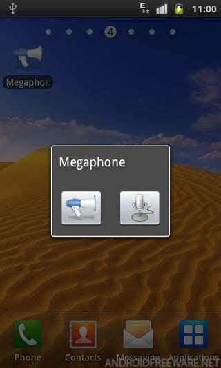 megaphone apk megaphone free apk android app android freeware