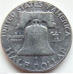 half dollar 1950 half dollar franklin 1948 1963
