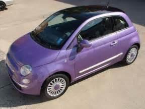 Fiat 500 Purple Fiat 500 Custom Colour Metallic Purple List