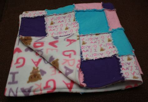Fleece Rag Quilt by I Rag Quilt With Fleece Backing By Primmrose