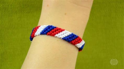 Make A With Stripes Jewelry by How To Make A Stripe Friendship Bracelet 171 Jewelry