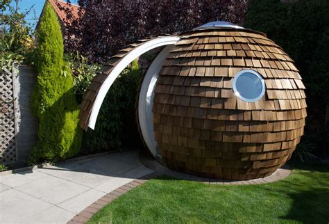 Backyard Pod by Archipod The New Garden Office Realitypod