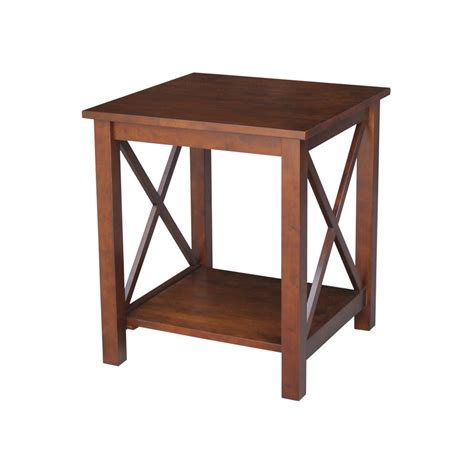 unfinished accent table international concepts hton unfinished end table ot 70e