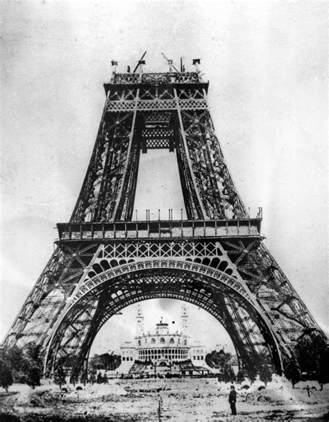 home of the eifell tower 15 amazing vintage photos of the iconic eiffel tower under