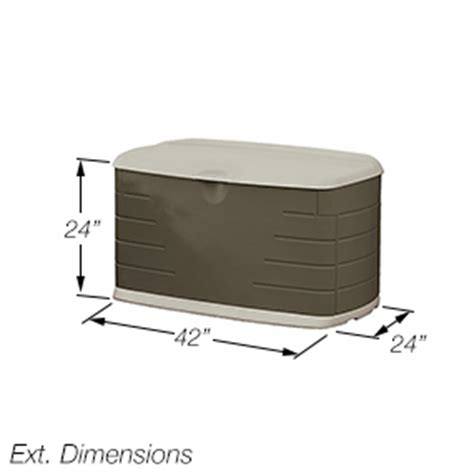 rubbermaid deck box with seat rubbermaid 5f21 deck box with seat outside