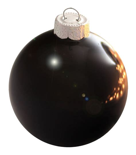 popular black ball ornaments buy cheap black ball