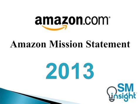 amazon mission statement amazon mission statement