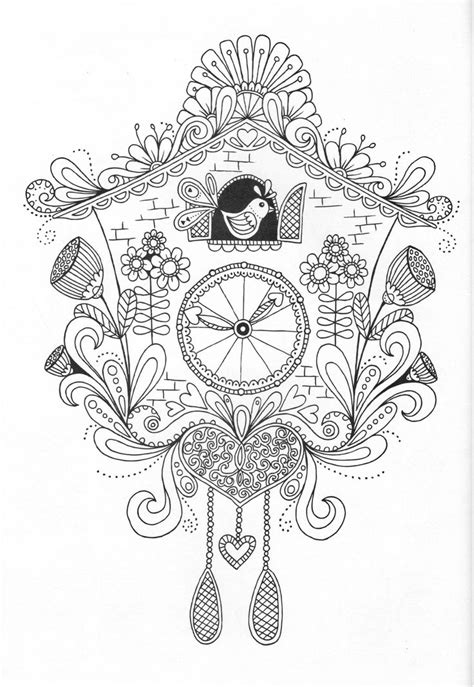 colouring books for adults templates clock coloring pages for adults coloring pages