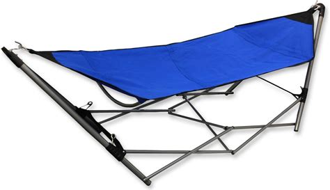 swinging hammock with folding frame cing outdoor garden