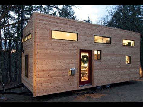 tiny house build couple builds own tiny house on wheels in 4 months for