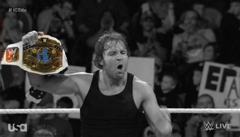 wwe dean ambrose hot dog cart wrestlers who impressed me this year wrestling amino