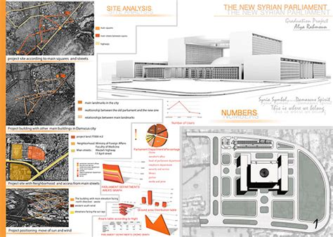 design poster analysis the new syrian parliament graduation project on behance