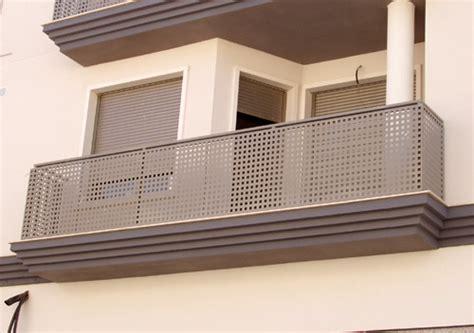 barandilla chapa perforada escaleras y barandas carpinter 237 a met 225 lica la villa