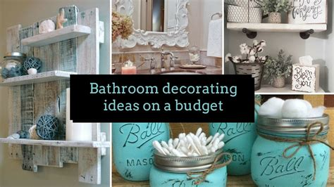 Bathroom Decor Ideas On A Budget by Astonishing Diy Bathroom Decorating Ideas On A Budget Home