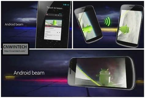 what is android beam පර ගණක android 4 0 නව ස ස කරණය