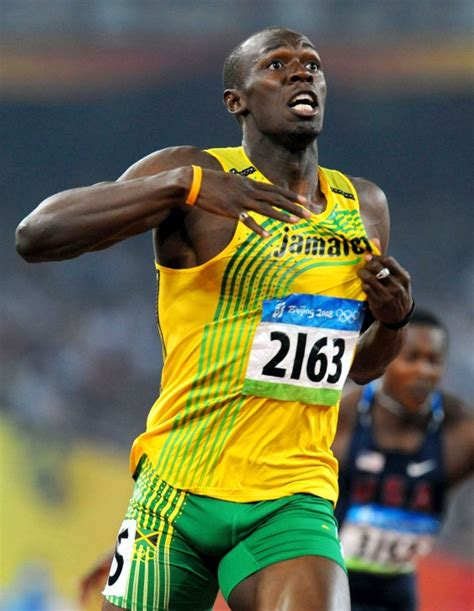 biography of usain bolt usain bolt photo who2