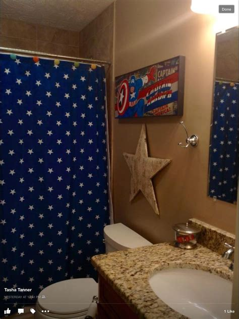 marvel superhero bathroom accessories 9 best images about captain america bathroom on pinterest