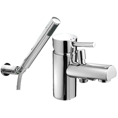 Thermostatic Bath Shower Mixer Deck Mounted ohio mono bath shower mixer tap