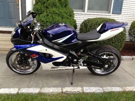 Suzuki Gsxr 1000 Blue White 2006 Suzuki Gsxr 1000 White And Blue Mint For Sale On
