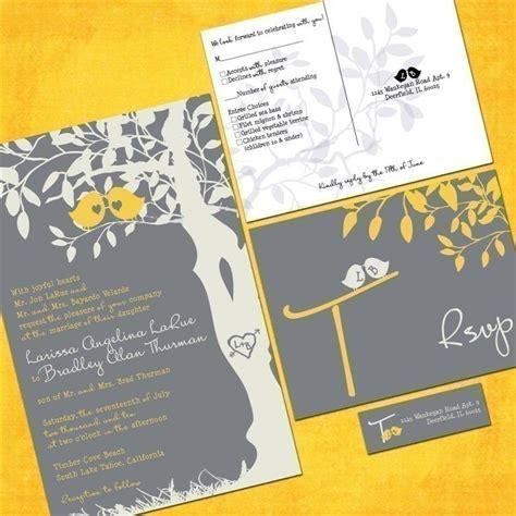 printable labels wedding invitations custom love birdies wedding invitation suite with rsvp