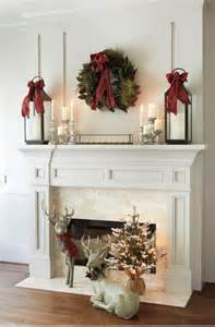 Pinterest Winter Decor - 12 best holiday mantels