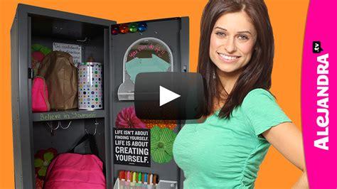 meet alejandra 187 alejandra tv video how to organize your locker locker organization