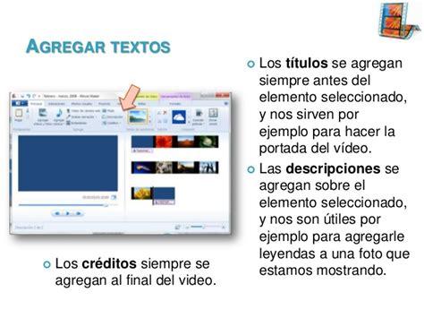 tutorial movie maker textos windows live movie maker tutorial