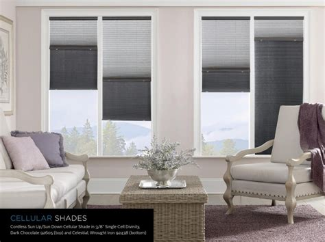 budget window blinds these signature series cellular shades offer the sun up