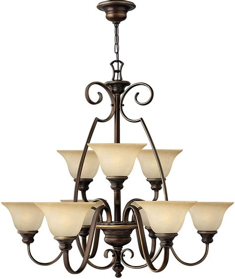 bronze chandelier with shades hinkley cello 9 light antique bronze chandelier with