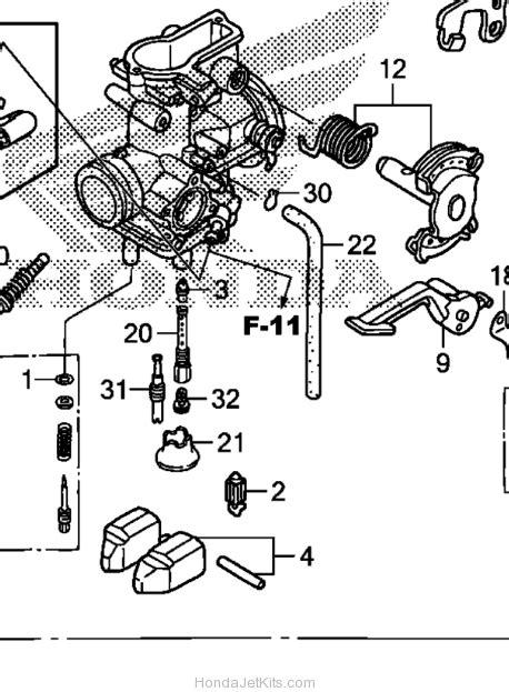 crf150f carburetor diagram 2005 honda crf 230 carburetor diagram honda auto parts